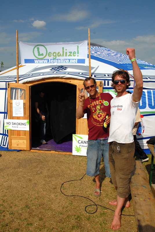 Cannabis Filmfestival Ger, Cannabis Liberationday 2011 (© Gonzo media)