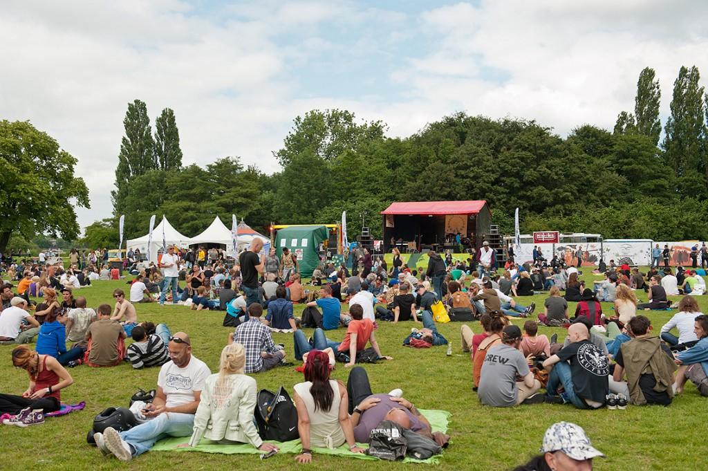 Zesde Cannabis Bevrijdingsdag, Flevopark, Amsterdam, 15 juni 2014 (© BROEK)