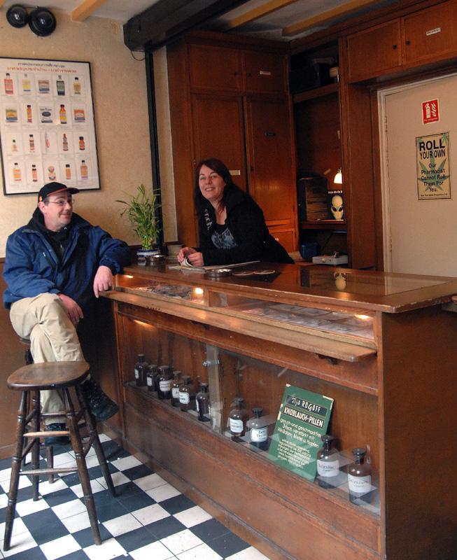 Coffeeshop De Apotheker, Eindhoven (© Gonzo media)