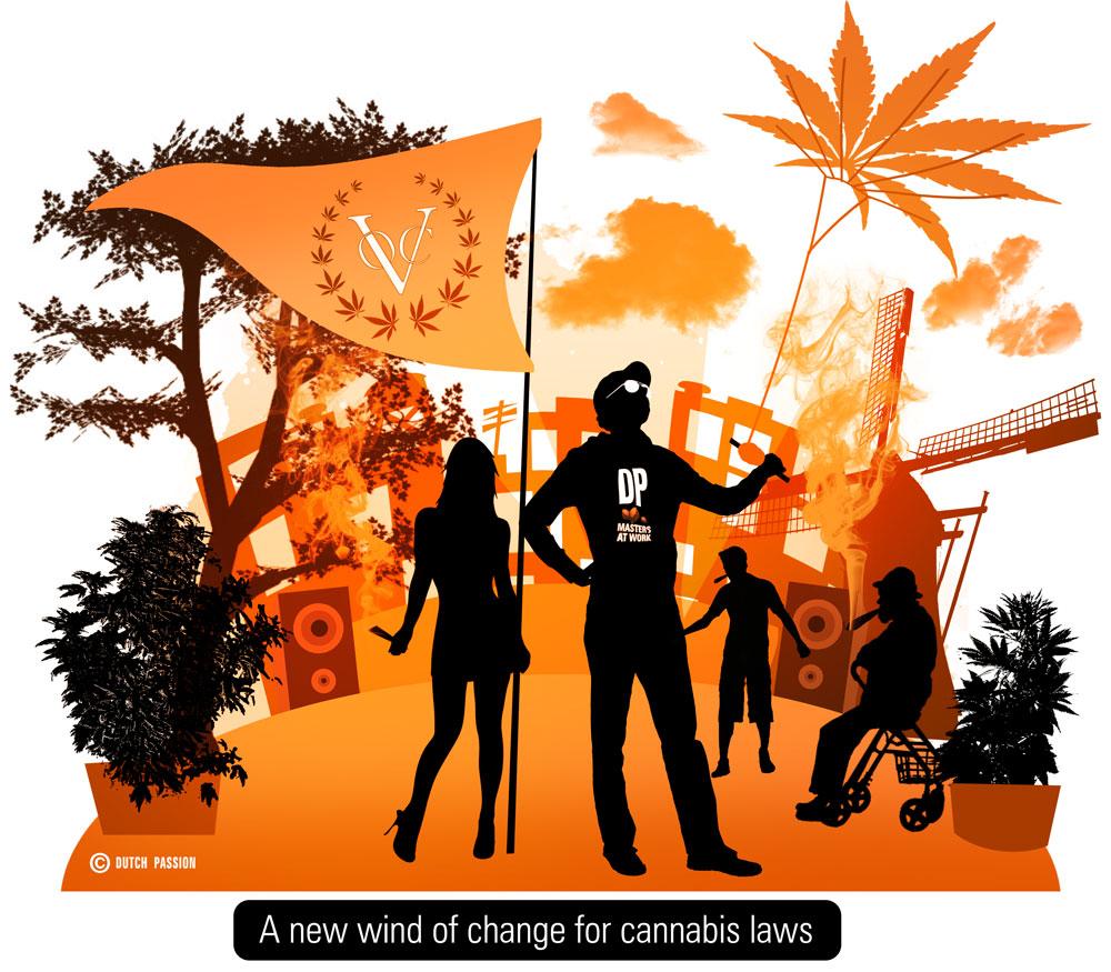 Met dank aan Dutch Passion, hoofdsponsor Cannabis Bevrijdingsdag