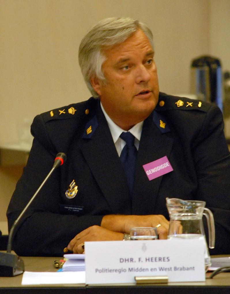 Frans Heeres, portefeuillehouder hennepteelt bij de raad van korpschefs en opsteller van het advies (© Gonzo media)