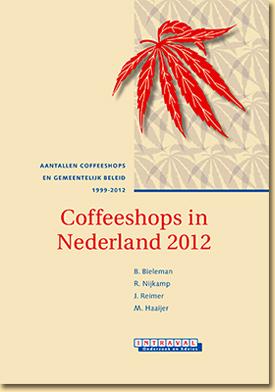 Omslag van Intraval rapport Coffeeshops in Nederland 2012