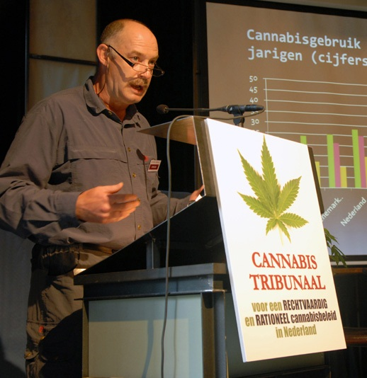 Marc Josemans, Cannabis Tribunaal 2011 (© Gonzo media)
