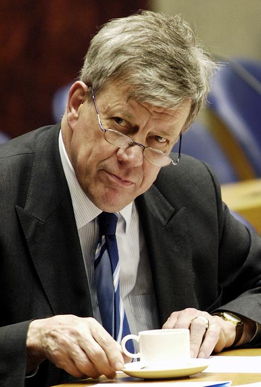 Ivo Opstelten (VVD), minister van veiligheid en justitie (© Gonzo media)
