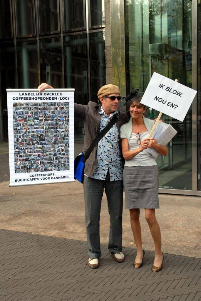 VOC demonstratie bij de Tweede Kamer, 3 oktober 2011