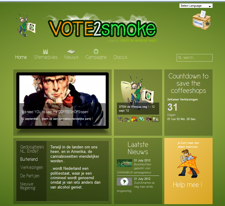 www.vote2smoke.nl