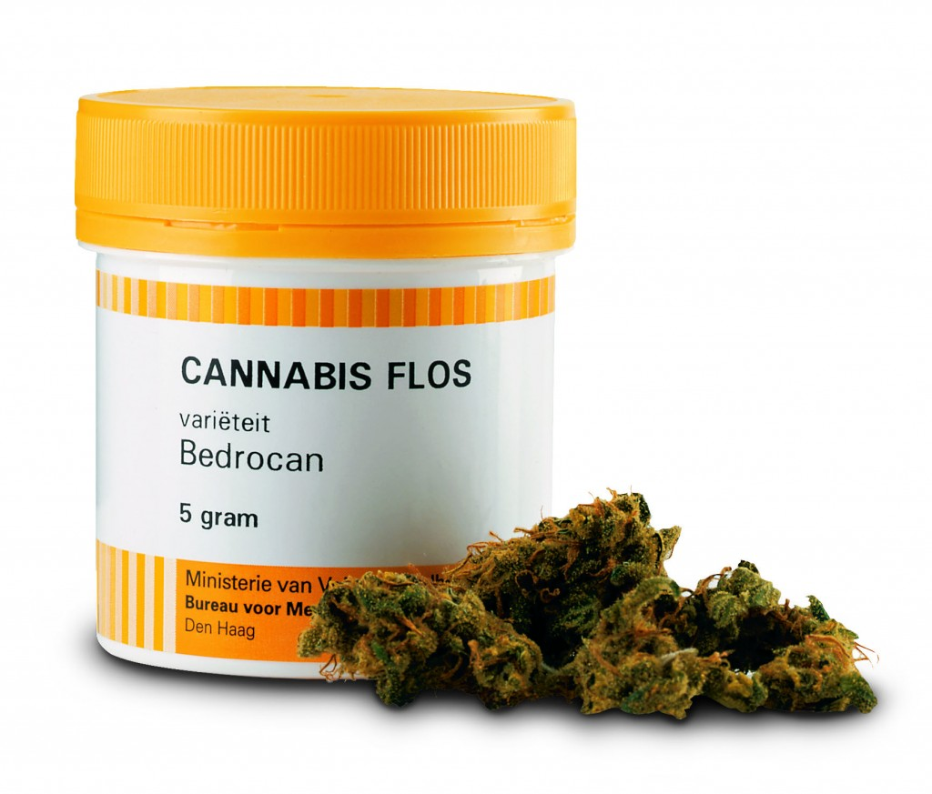 Medicinale cannabis van Bedrocan