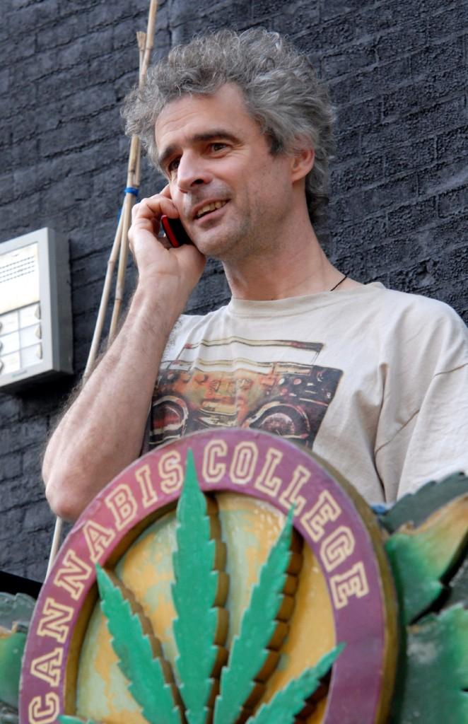 Joep Oomen, Cannabis College, juni 2010 (© Gonzo media)