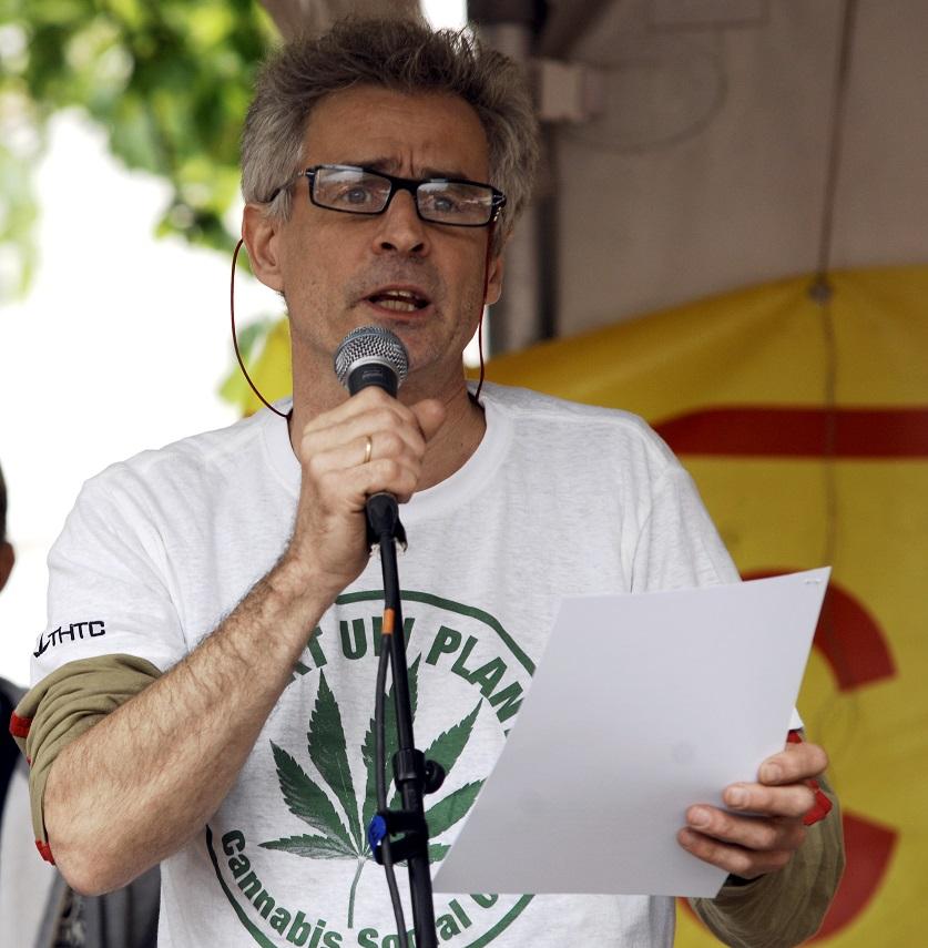 Joep Oomen, Cannabis Bevrijdingsdag 2015, Antwerpen (© Gonzo media)