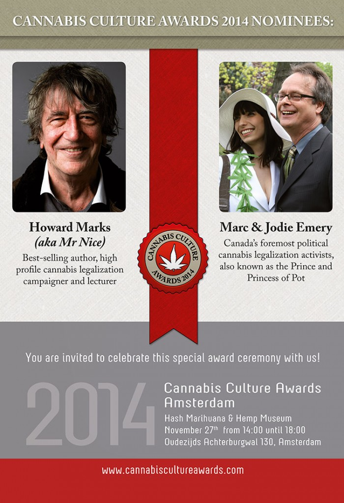 CANNABIS CULTURE AWARDS 2014 seed discount POSTER CCA.indd