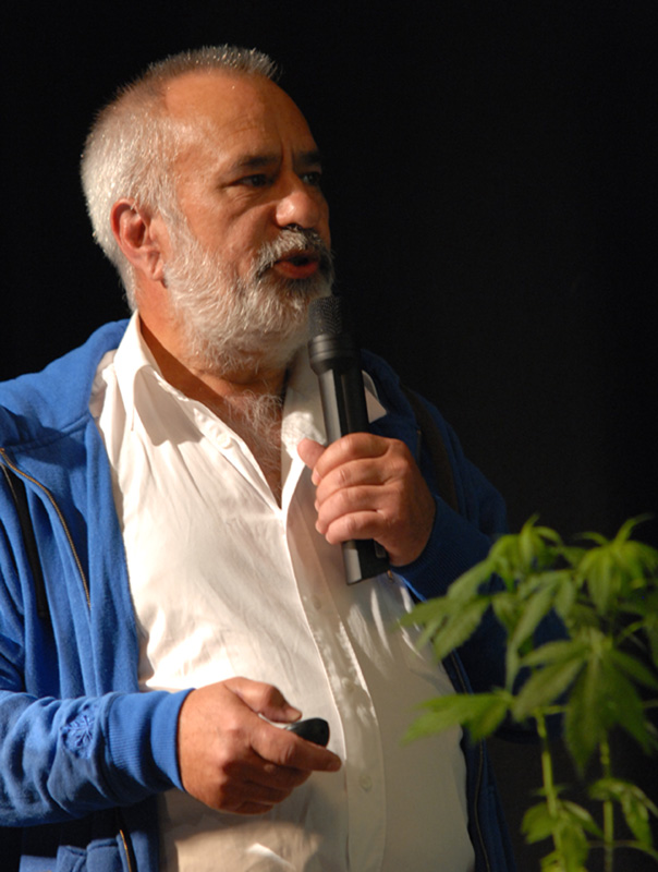 Wernard Bruining, VOC Cannabis Tribunaal 2011 (© Gonzo media)