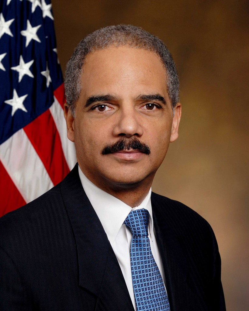 Eric Holder, Attorney General (minister van justitie) van de VS