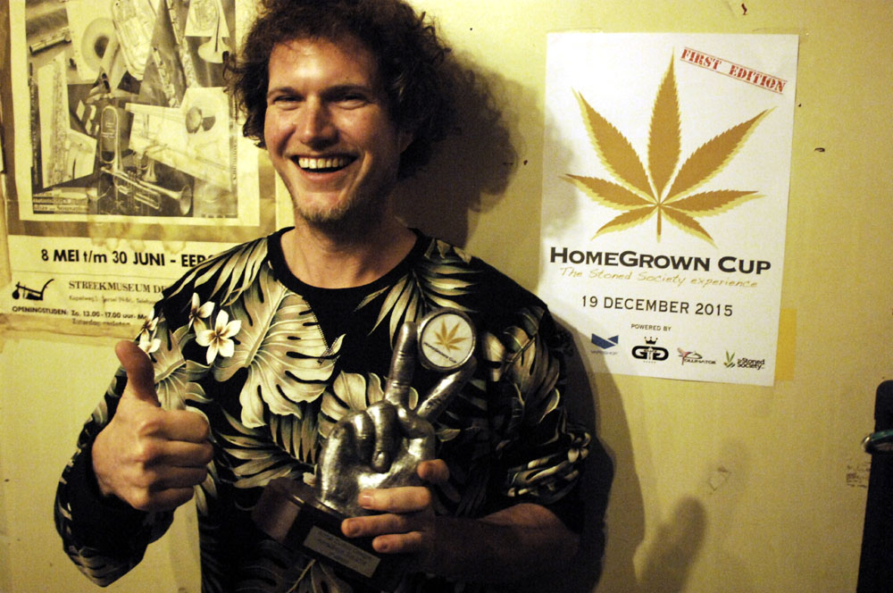 Winnaar in de categorie buitenwiet: Cannabis Social Club Tree of Life (© Gonzo media)
