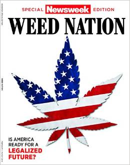Cover of Newsweek's Weed Nation special issue, published February 2015